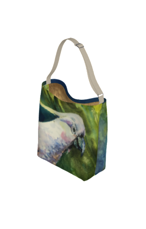 Cockatoo Soft Stretchy Neoprene Tote