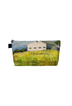 Maine Summer Goldenrod Cosmetics Bag/Clutch