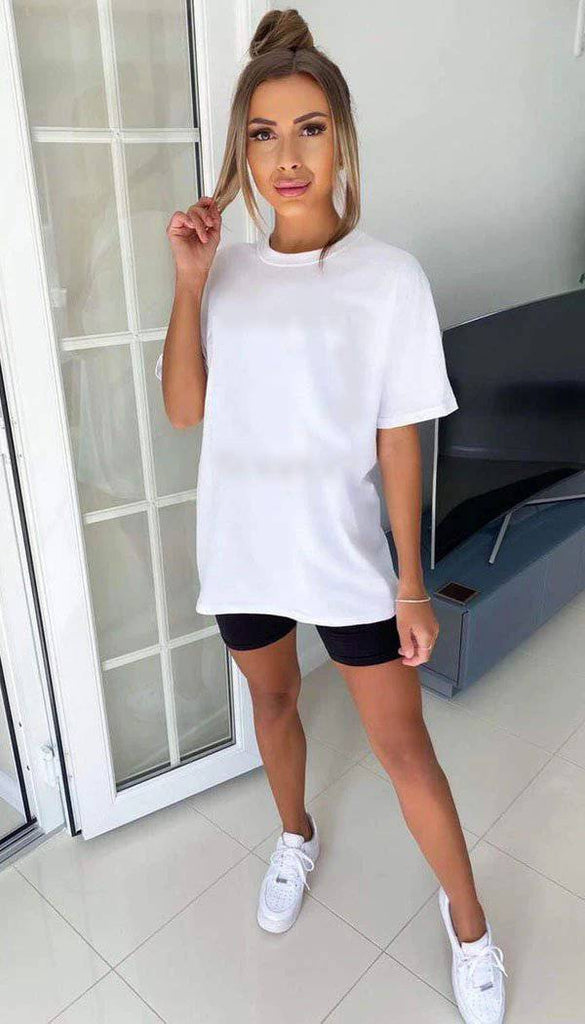 Halo Angel Wings Oversized T-Shirt