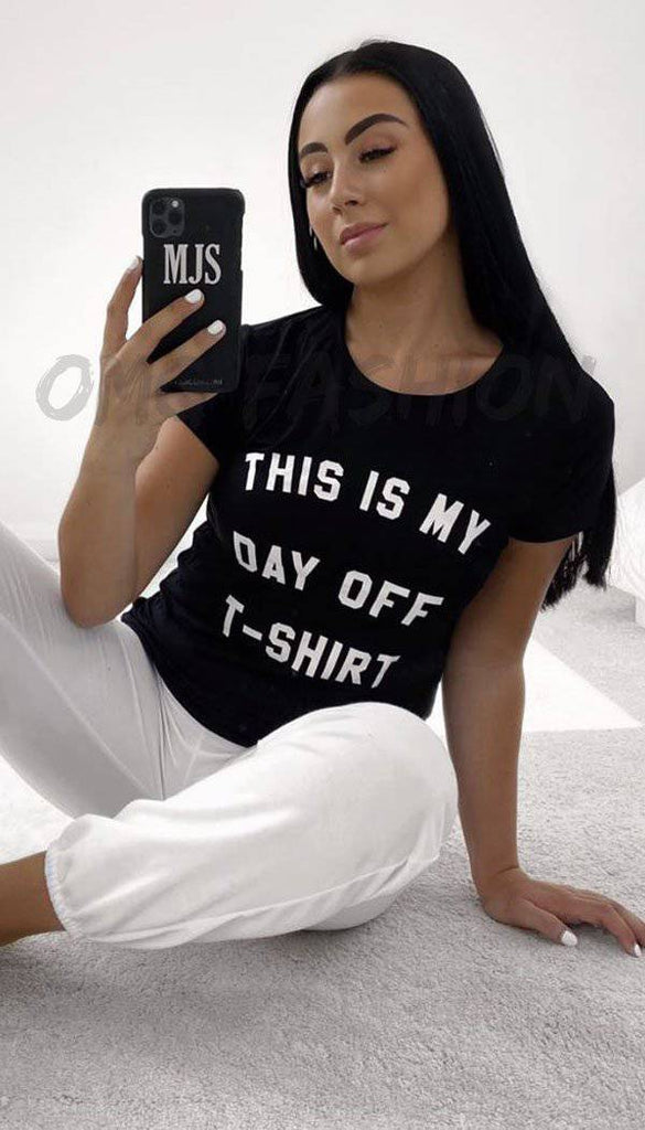 """ THIS IS MY DAY OFF"" T-Shirt"