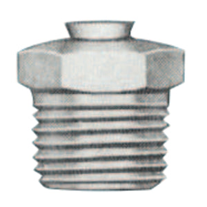 Relief Fittings, Straight, 1/2 in, Male/Male, 1/8 in (PTF)