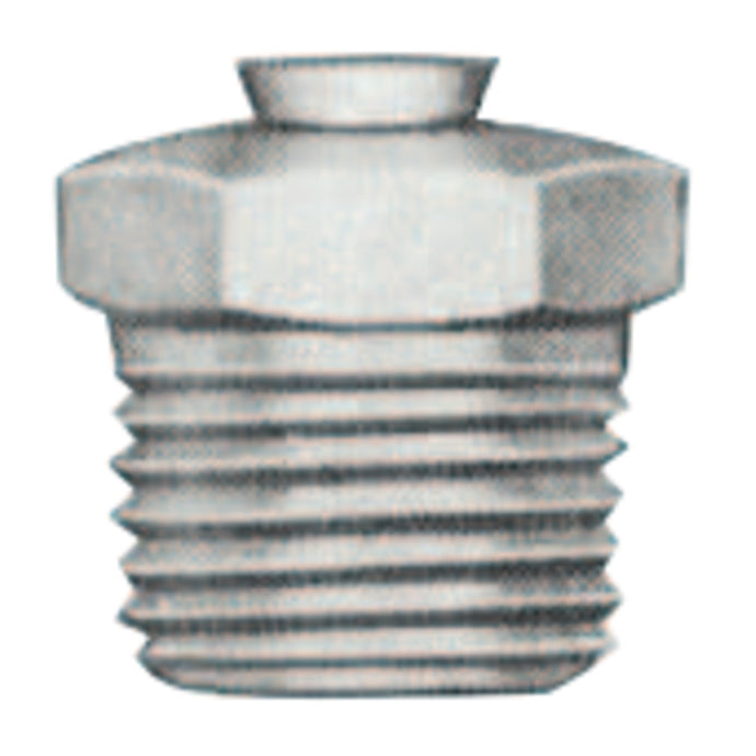 Relief Fittings, Straight, 1/2 in, Male/Male, 1/8 in (PTF), 25 psi