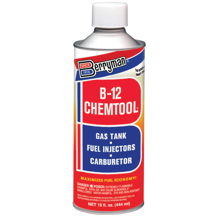 B-12 CHEMTOOL Carburetor/Choke Cleaner, 15 oz Aersol Can, Aromatic (Toulene)