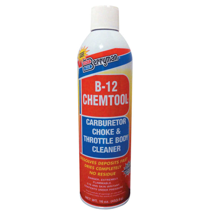 B-12 CHEMTOOL Carburetor/Choke Cleaners, 16 oz Aerosol Can