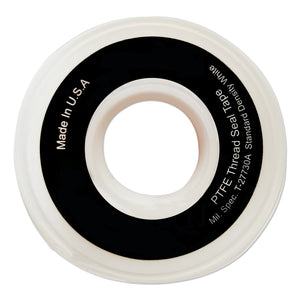 White Thread Sealant Tapes, 1/4 in x 1,296 in