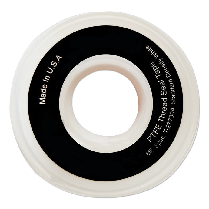 White Thread Sealant Tapes, 1 in x 260 in