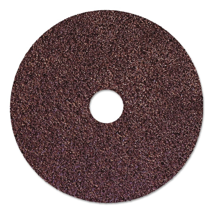 Resin Fiber Discs, 5 in Dia, 50 Grit, 7/8 in Arbor, 10,000 RPM