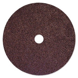Resin Fiber Discs, 7 in Dia, 36 Grit, 7/8 in Arbor, 8,500 RPM