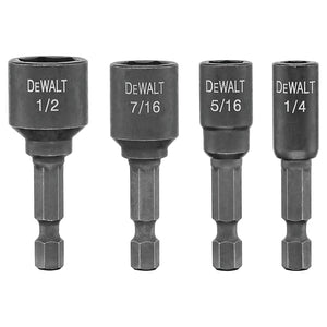 IMPACT READY Nut Drivers, 1/2 in, 1/4 in, 3/8 in, 5/16 in, 7/16 in