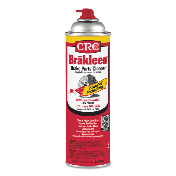 50 State Formula Brakleen Brake Parts Cleaners, 20 oz Aerosol Can