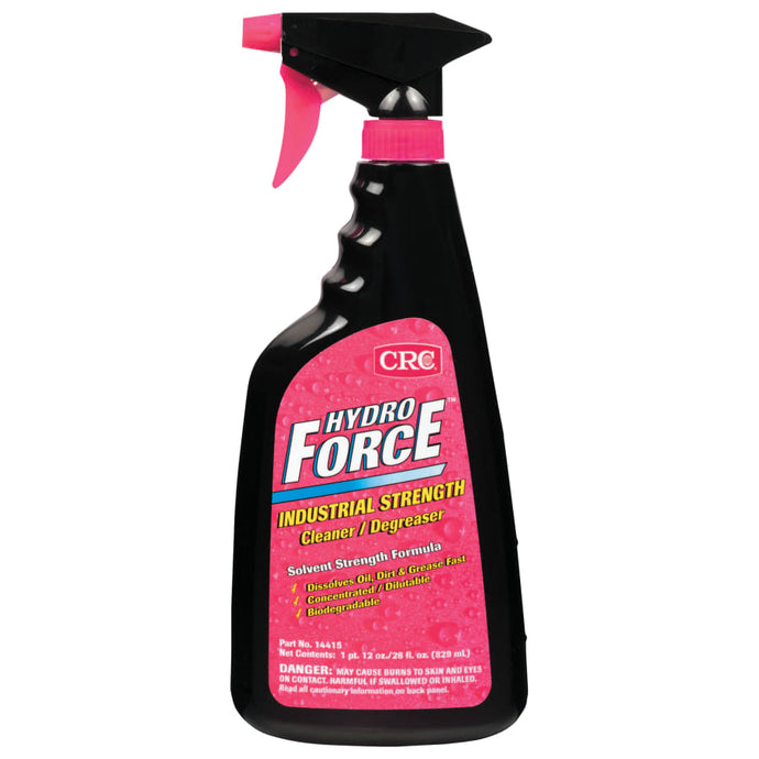 HydroForce Industrial Strength Cleaner/Degreaser, 32 oz Trigger Spray Bottle, Pleasant