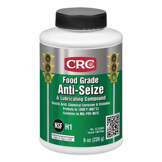 Food Grade Anti-Seize and Lubricating Compound, 1 lb Brush-Top Bottle
