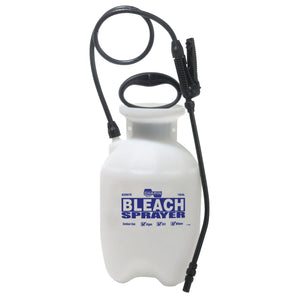 Bleach Sprayer, 1 gal, 12 in Extension, 34 in Hose