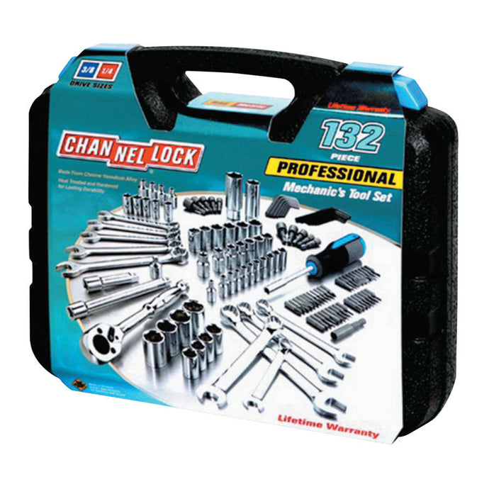 132 Pc. Mechanic's Tool Set, 24 in L