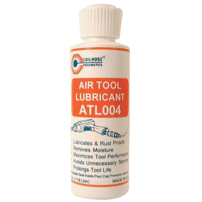 Air Tool Lubricants, 4 oz, Bottle