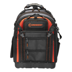 Tradesman Backpack, 38 pockets, 14 in L x 10 in W x 18 in H