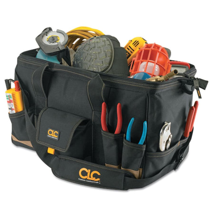 MegaMouth Tool Bag, 31 Compartments, 12 in X 18 in