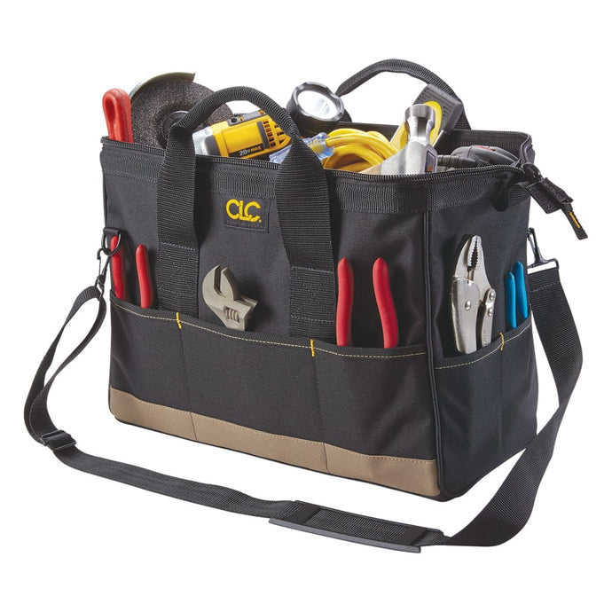 BigMouth Tool Tote Bags, 22 Compartment, 8 1/2w x 16d x 10h