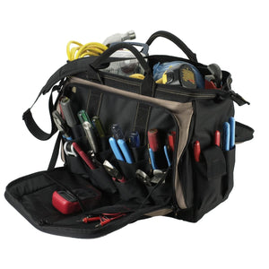 Soft Side Tool Bags, 57 Compartments, 14 in X 7 in