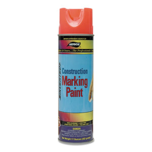 Construction Marking Paints, 20 oz , Red