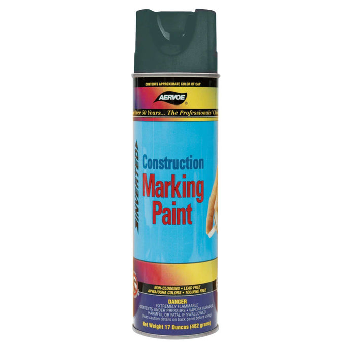 Construction Marking Paints, 20 oz , Black