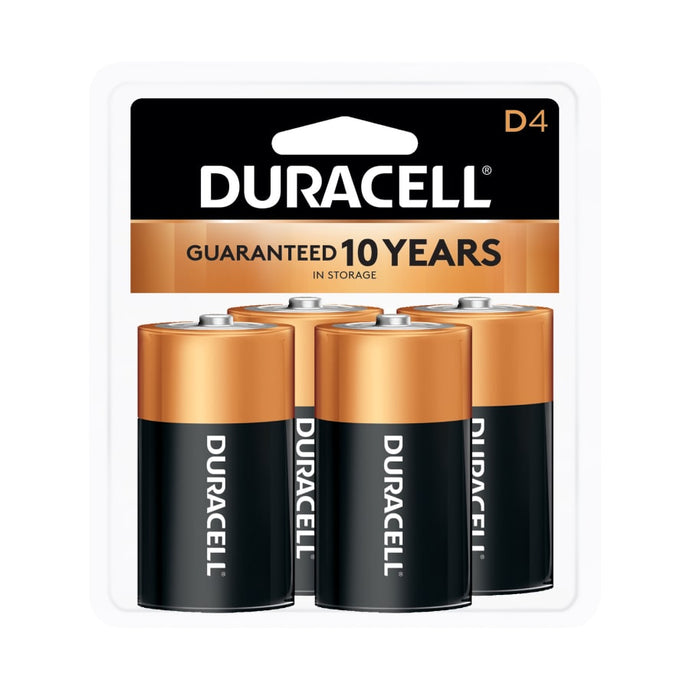 CopperTop Alkaline Battery,  D