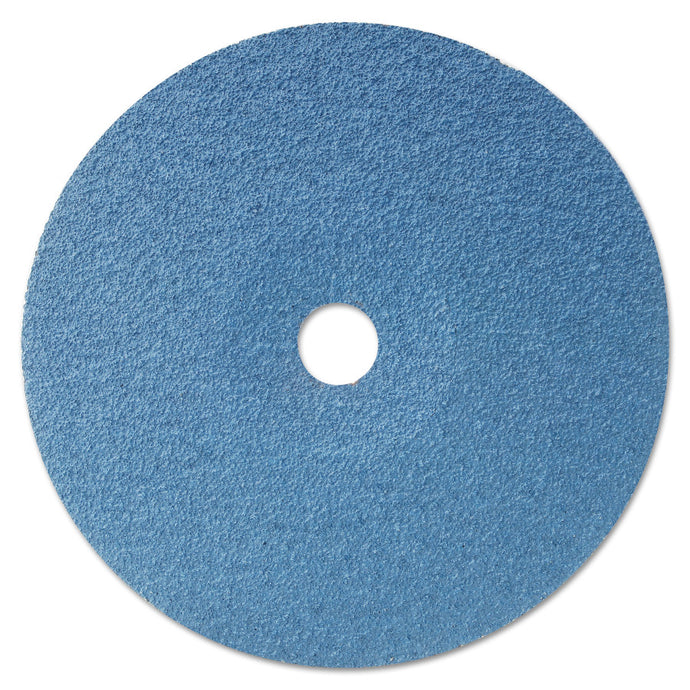 Resin Fibre Discs, Zirconia, 5 in Dia., 36 Grit