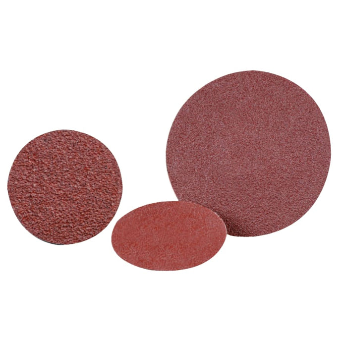 Quick Change 2-Ply Discs, Aluminum Oxide, 2 in Dia., 24 Grit