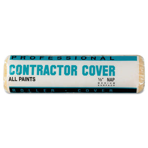 Contractor Knit Covers, 9 in, 1/2 in Nap, Knit Polyester