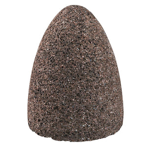Aluminum Oxide Portable Snagging Cone, Type 16, 2 X 3 X 3/8-24, A24-R