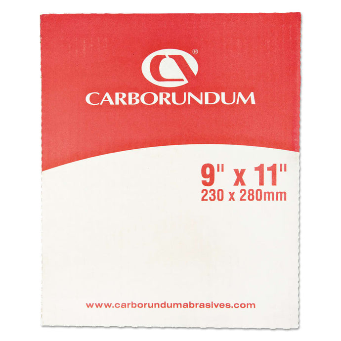 Carborundum Aluminum Oxide Resin Cloth Sheets, Aluminum Oxide Cloth, P240