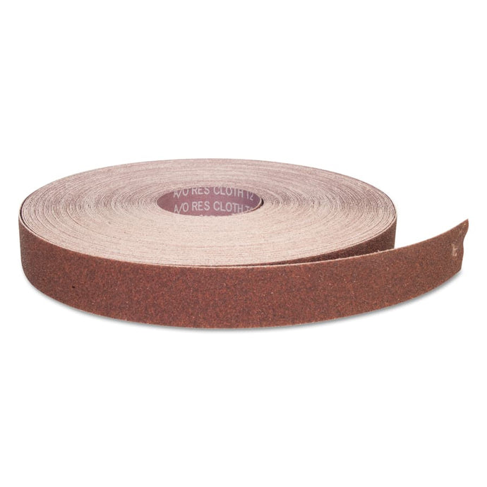Aluminum Oxide Resin Cloth Rolls, 1 1/2 in x 50 yd, P60 Grit