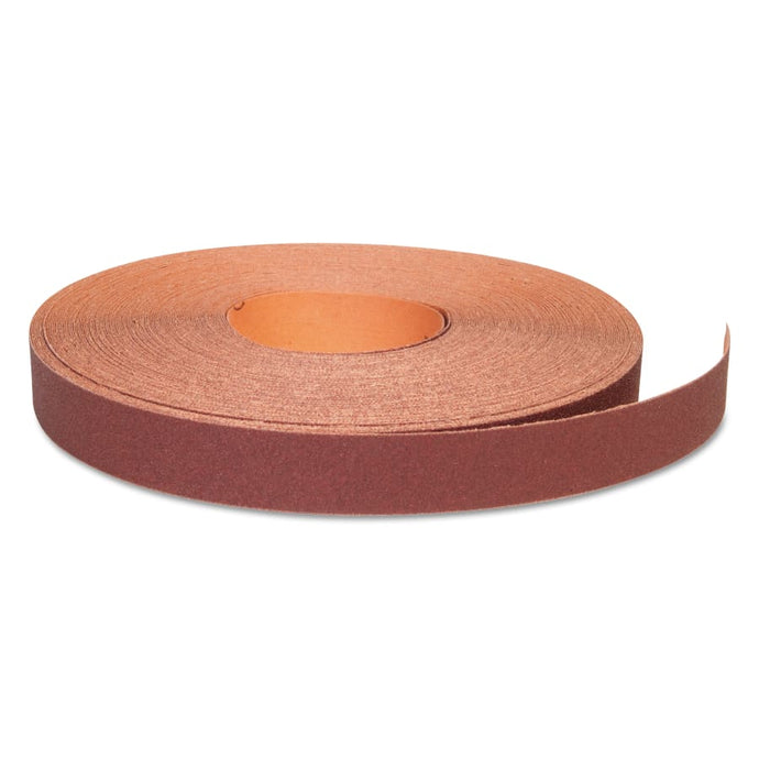 Aluminum Oxide Resin Cloth Rolls, 1 in x 50 yd, P180 Grit