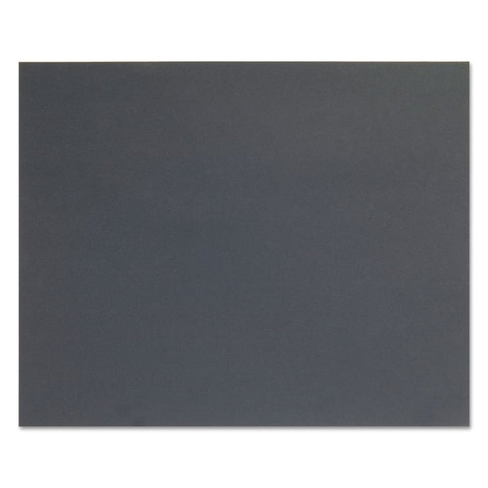 Silicon Carbide Waterproof Paper Sheets, 400 Grit