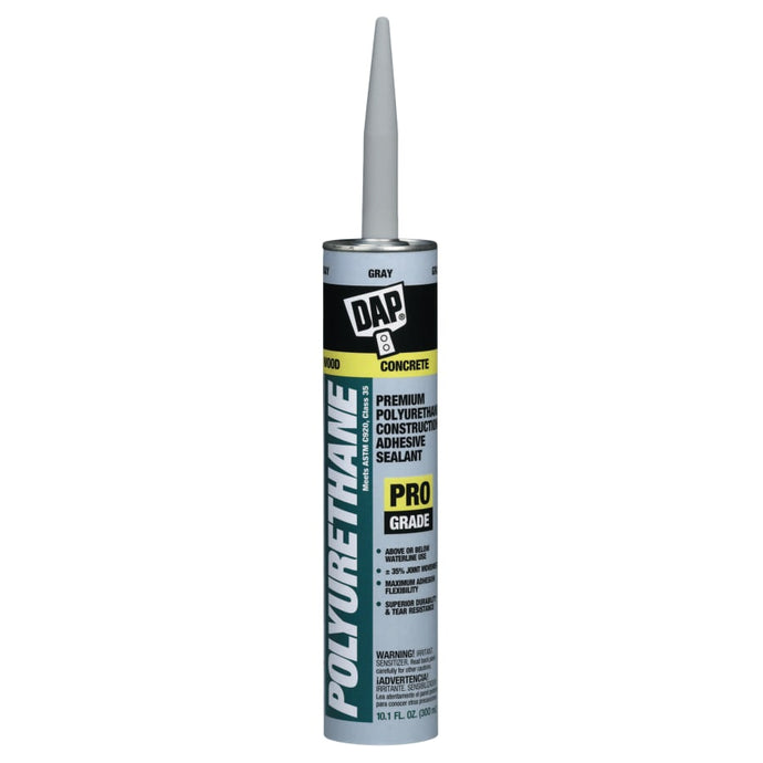 Premium Polyurethane Adhesive Sealants, 10.1 oz , Gray