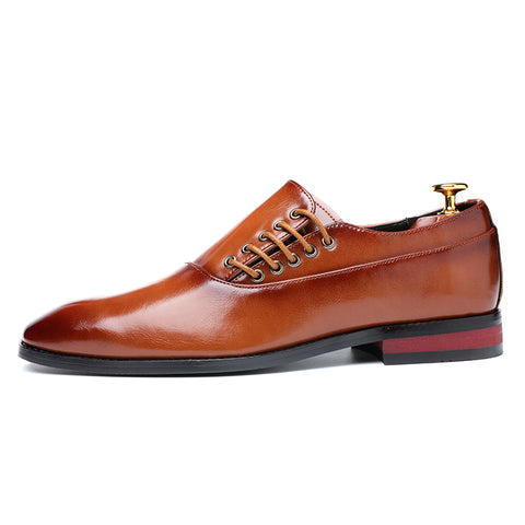 Men`s business Dress Leather Shoes Size 37-48