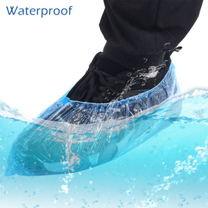 100/200/500Pcs  Waterproof Shoe Covers Disposable