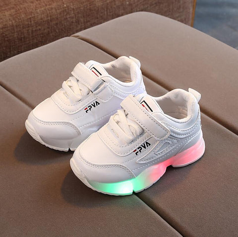 Kid`s Breathable  Anti-Slippery With Light Running Shoes