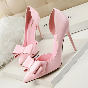 Women`s  Pointed Toe 10.5CM thin high heels