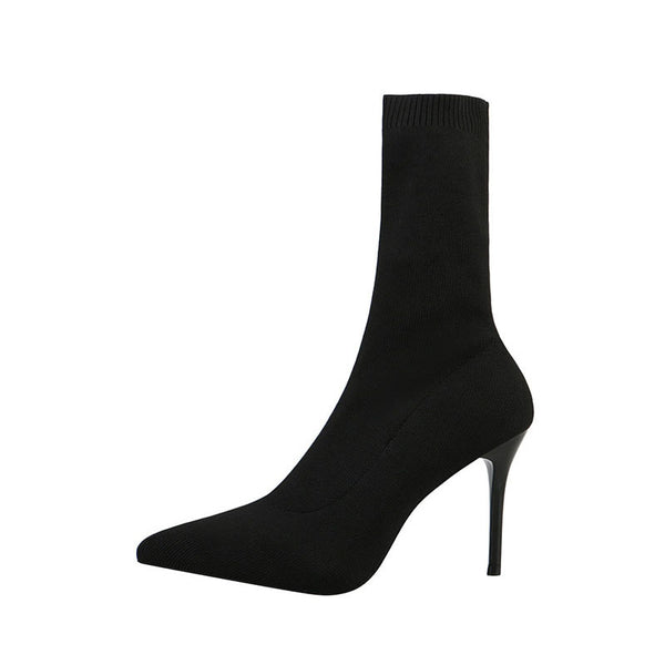 Women High Heels Ankle Boots