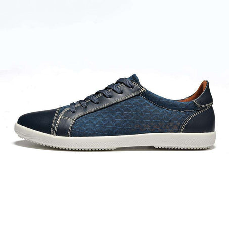 Split Leather Breathable Shoes - Discountz Market