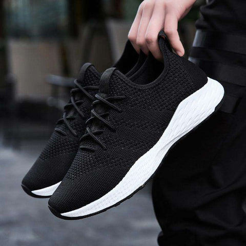 Breathable Men Sneakers - Discountz Market