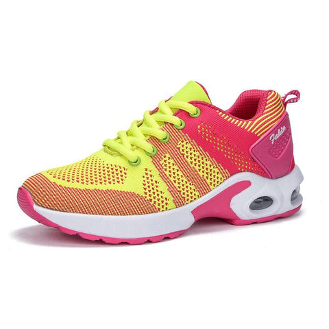 Women`s Casual Breathable Shoes in different color styles