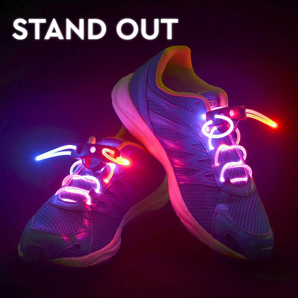 LED Polyester Shoelaces