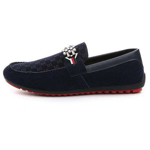 Trendy Nubuck Leather Slip-on Loafers - Discountz Market