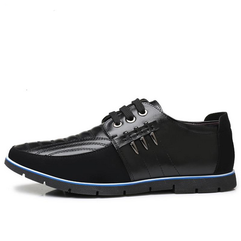 Mens High Quality Leather Casual Shoes - Discountz Market