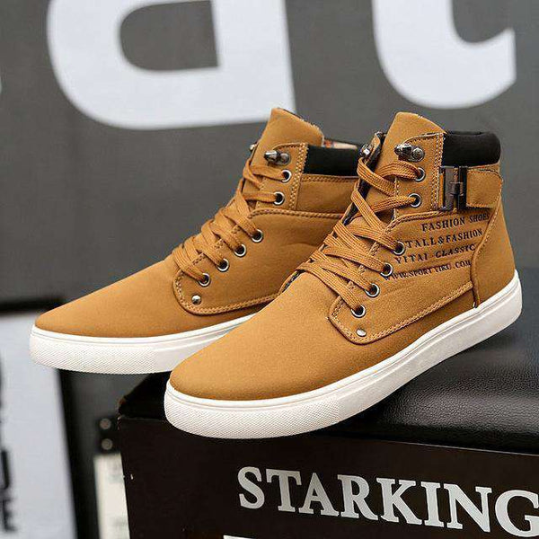 Fashion High Top Men Shoes - Discountz Market