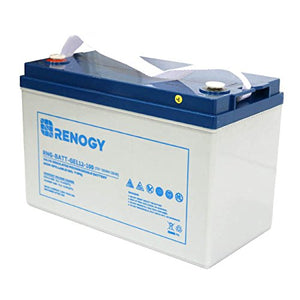 Renogy 12V 100Ah Deep Cycle Pure Gel Battery