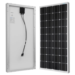 Renogy 400 Watt 12 Volt Off Grid Solar Premium Kit with Monocrystalline Solar Panel and 40A MPPT Rover Controller/Mounting Z Brackets/MC4 Adaptor Kit/Tray Cables Fuse set /MC4 fuse