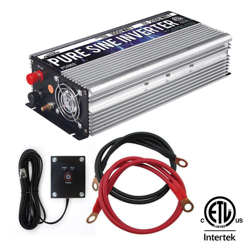 GoWISE Power PS1002 Pure SINE Wave Inverter 1000W Cont/2000W Peak